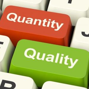 Quantity-v-Quality